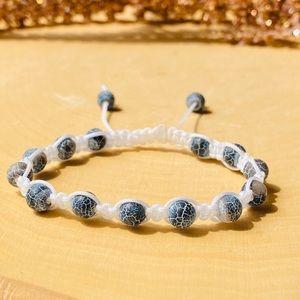 Dragon vines agate Gemstone adjustable Bracelet